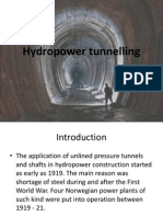 Hydropower Tunnelling