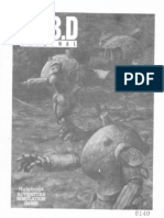 Board Wargame Sf3D Original Rulebook Eng