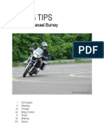 Riding Tips Cover for Nathanael Burney's