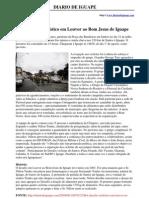 Matéria do site Diario de Iguape