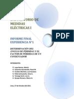 133627628 Determinacion Del Angulo de Perdidas y Factor de Perdidas de Un Condensador