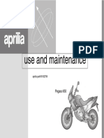 Aprilia Pegaso Manual