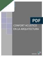 CONFORT ACÚSTICO EN LA ARQUITECTURA
