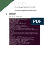 Setup Proxy Server Dengan Squid Pada Ubuntu 13