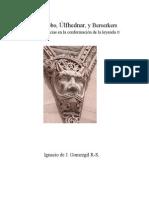 Hombres lobo, Úlfhedners y Berserkers, posibles influencias en la conformación de una leyenda, Ignacio Gomezgil