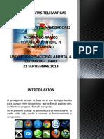 21 Septiembre 2013 - World Wide Web, Navegadores