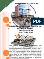 19 Octubre 2013 - E-learning
