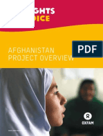 My Rights, My Voice Afghanistan Project Overview