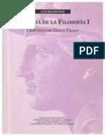 SUA FyL Historia de la Filosofía I - Guia de Estudios