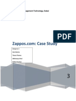 The Case of Zappos- Service Marketing