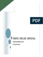 Clase Terapia Familiar Contextual (Boszormenji-Nagy)