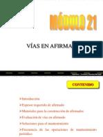 MODULO 21 -Vias en Afrimado