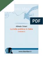 La Lotta Politica in Italia 1