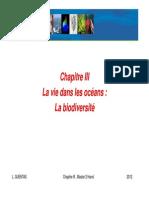 Chapitre III La vie dans les océans format pdf 2013