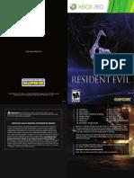 Resident evil 6 manual XBOX