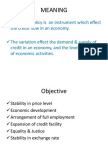 136497785 Monetary Policy Ppt