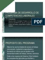Prodemu - Programa de Desarrollo de Competencias Laborales