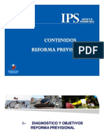 IPS - Reforma Previsional