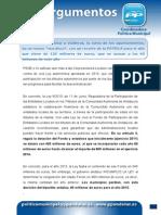 14 11 13 Argumentario Nuevo Recorte de La Junta a Los Ayuntamientos