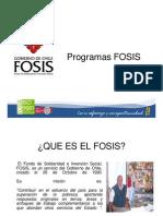 Fosis_ Programas