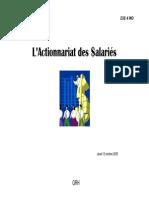 Actionnariat Des Salaries Lecture Seule Mode de Compatibilite