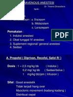 Intravenous Anestesi
