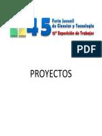 Libro de Proyectos 2011