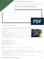 Soldadura Por Resistencia - Unidad IV - Procesos de Ensamble