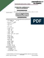 Aritmetica y Algebra 5to - CIMA