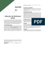 Folheto PET2009 - 1a Parte