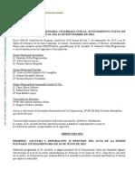 Pleno ordinario 12 de Septiembre de 2013