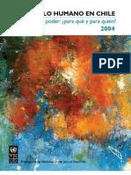 Desarrollo Humano Chile 2004 PNUD