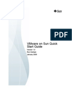 Sun and VMWare Quick Start Guide