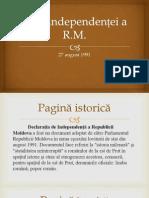 Ziua independenței a R.M