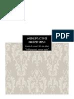 RESUELTO. ANÁLISIS SINTÁCTICO DE ORACIONES SIMPLES (Ficha I)