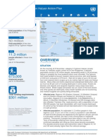 2013 Philippines Typhoon Haiyan Action Plan