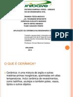 Materiais de Construção Civil - Cerâmica - PRONTO