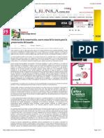 La Crónica de Hoy-Medicina de la conservación