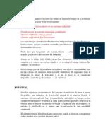 Características Contratos de trabajo