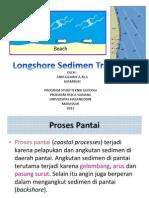 Geodinamika Pantai - LongShore Sedimen Transport