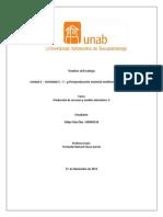Unidad 2 – Actividad 3 – f – g Postproducción material multimedia interactivo