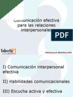 Comunicacion Efectiva = Chile