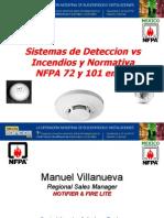 03 Sistemas de Deteccion vs Incendio y Evacuacion Segun Normativa NFPA 72 y 101 en Latinoamerica Manuel Villanueva Honeywell Notifier