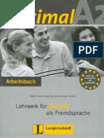 Optimal A2 Arbeitsbuch