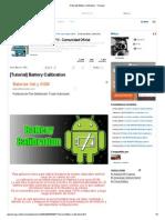 [Tutorial] Battery Calibration - Taringa!