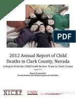 2012 CDR Report