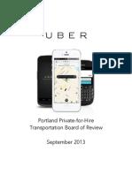 Uber Portland Packet