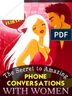 Steve Scott - The Secret to Amazing Phone Conversations With Women Id87920115 Size445