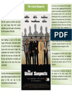 The Usual Suspects Poster Analysis