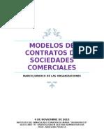 Modelos de Contrato de Sociedades Comerciales